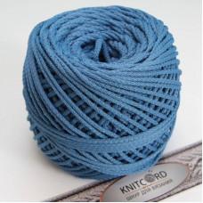 Полиэфирный шнур для вязания 5 мм. с сердечник светло-синий Арт.2041