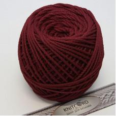Полиэфирный шнур для вязания 5 мм. с сердечник темно-вишневый Арт.2047