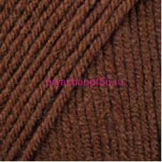 YarnArt SUPER MERINO 1182 коричневый