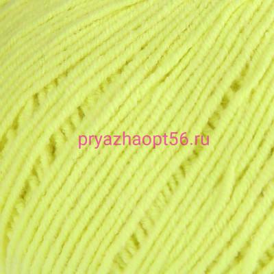 YarnArt JEANS 58 лимонный