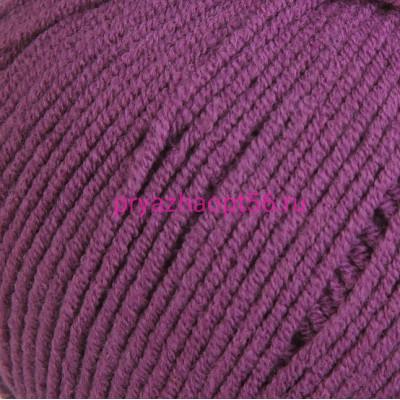 YarnArt JEANS 50 фиолетовый
