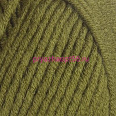 YarnArt MERINO BULKY 530 темно-зеленый
