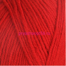 YarnArt MERINO DE LUXE 50 0576 красный