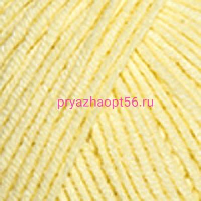 YarnArt JEANS 67 светло-желтый