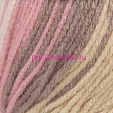 YarnArt DANCING BEBI 816 бело-розово-песочный