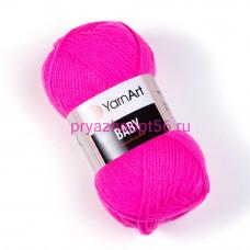 YarnArt BABY 174 ярко-розовый