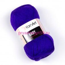 YarnArt BABY 203 фиолет
