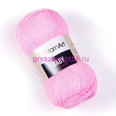 YarnArt BABY 217 розовый