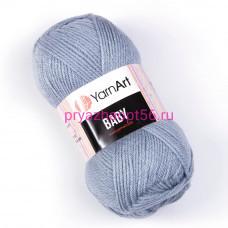 YarnArt BABY 3072 серый