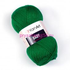YarnArt BABY 338 зеленый