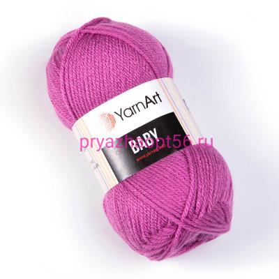 YarnArt BABY 560 т.сиреневый