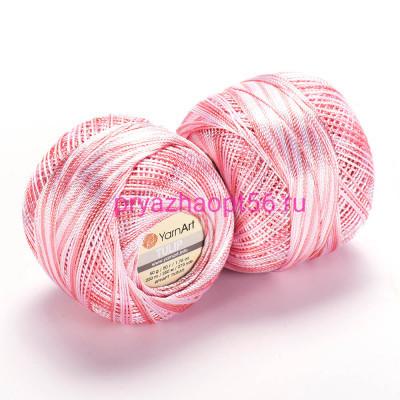 YarnArt TULIP 457 бело-розово-персиковый