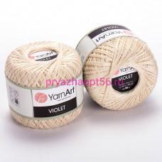 YarnArt VIOLET 6194 топленое молоко