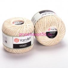 YarnArt VIOLET 6282 молочный