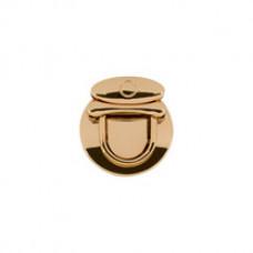 7G замки для сумок 33 мм x 31 мм  под золото